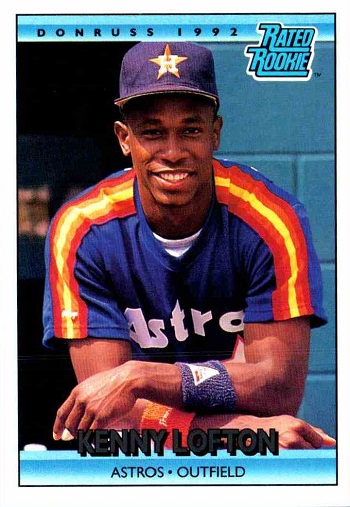 1992 donruss kenny lofton rated rookie