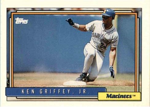 1992 topps ken griffey jr