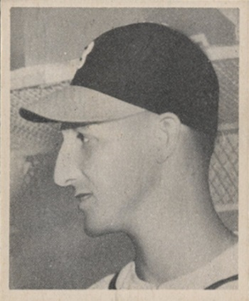 1948 Bowman Warren  Spahn