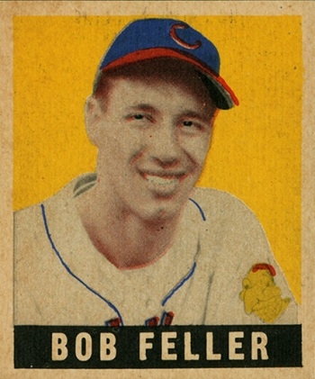 1948 Leaf Bob  Feller SP