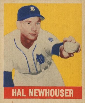 1948 Leaf Hal  Newhouser SP