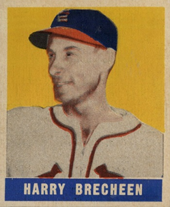 1948 Leaf Harry  Brecheen SP