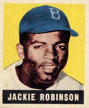 1948 Leaf Jackie  Robinson