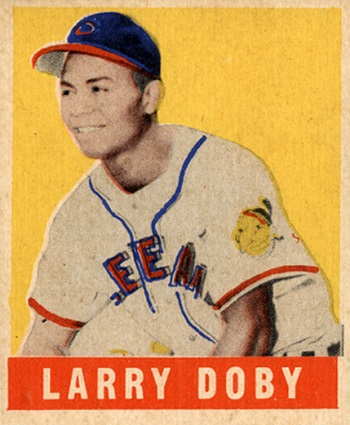 1948 Leaf Larry  Doby SP