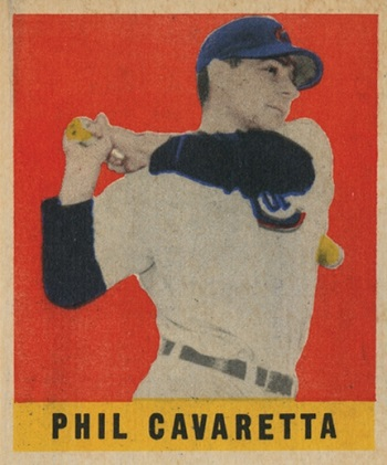 1948 Leaf Phil Cavaretta SP
