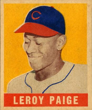 1948 Leaf Satchel  Paige SP