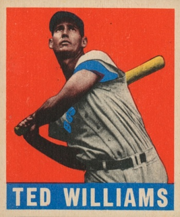 1948 Leaf Ted  Williams