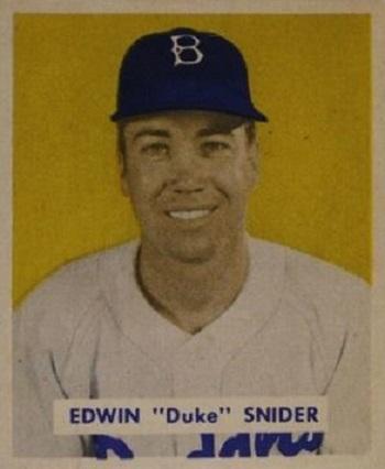 1949 Bowman Duke Snider
