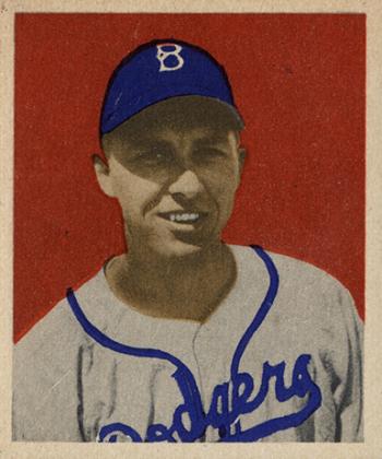 1949 Bowman Gil Hodges