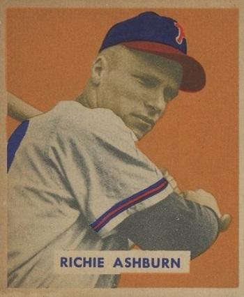 1949 Bowman Richie Ashburn