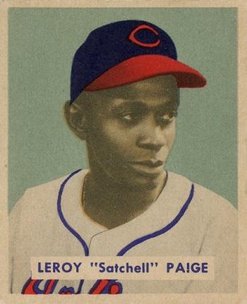 1949 Bowman Satchel Paige