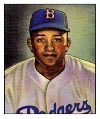 1950 Bowman Don Newcombe Rookie Card