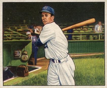 1950 Bowman Duke Snider