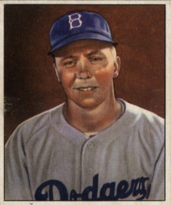 1950 Bowman Pee Wee Reese
