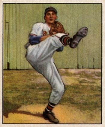 1950 Bowman Warren Spahn