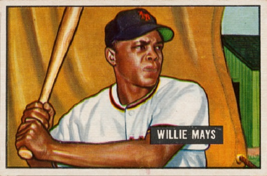 1951 Bowman Willie Mays
