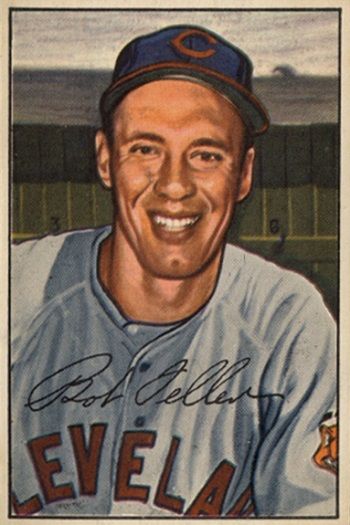 1952 Bowman Bob  Feller