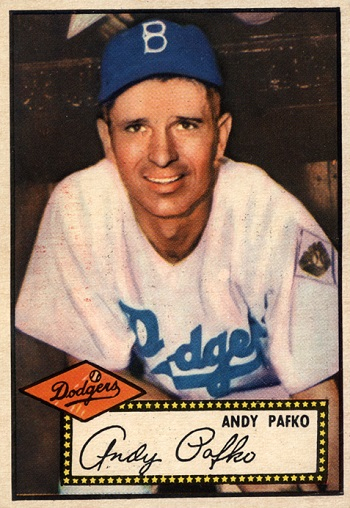 1952 Topps Andy Pafko