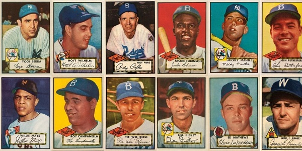 1952 Topps Baseball Cards 12 Most Valuable Wax Pack Gods