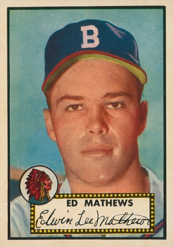 1952 Topps Eddie Mathews