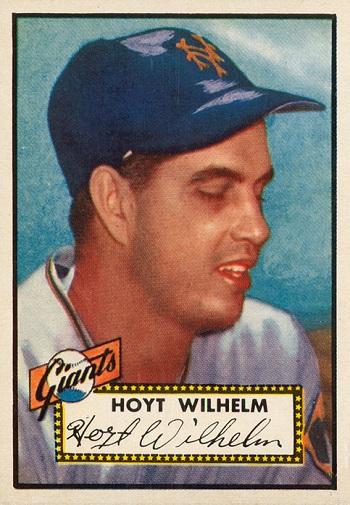 1952 Topps Hoyt Wilhelm
