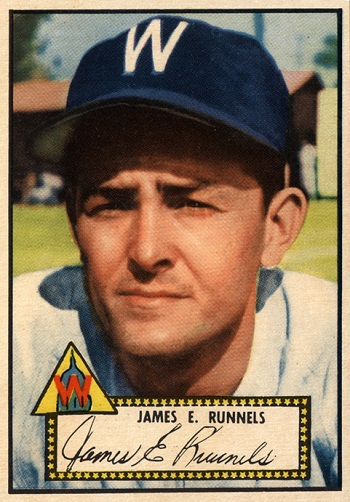1952 Topps Pete Runnels