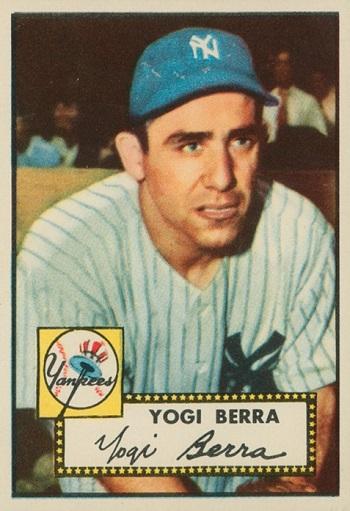 1952 Topps Yogi Berra