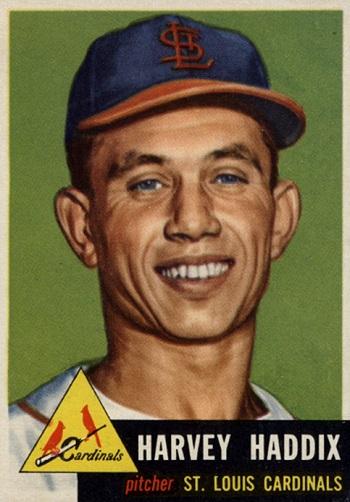 1953 Topps Harvey  Haddix