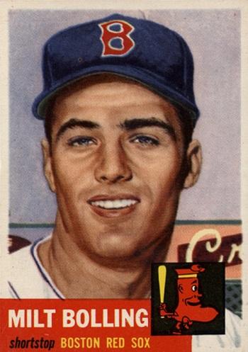 1953 Topps Milt  Bolling