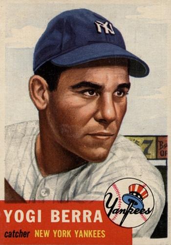 1953 Topps Yogi Berra