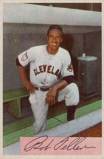 1954 Bowman Bob Feller