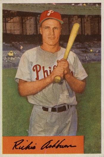 1954 Bowman Richie Ashburn