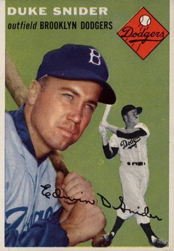 1954 Topps Duke Snider