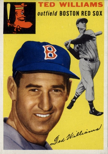 1954 Topps Ted Williams (#250)