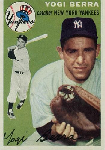 1954 Topps Yogi Berra