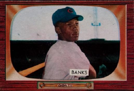 1955 Bowman Ernie Banks