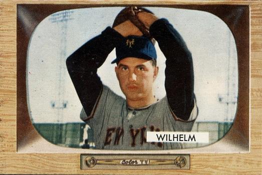 1955 Bowman Hoyt Wilhelm