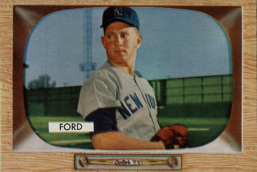 1955 Bowman Whitey Ford