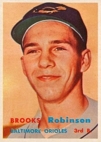 1957 Topps Brooks Robinson