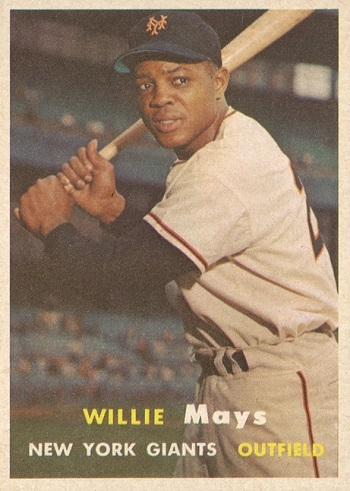 1957 Topps Willie Mays