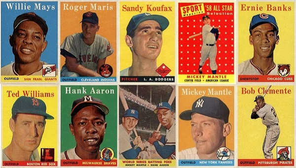 1958 Topps Baseball Cards 10 Most Valuable Wax Pack Gods