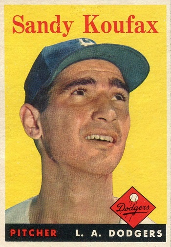 1958 Topps Sandy Koufax