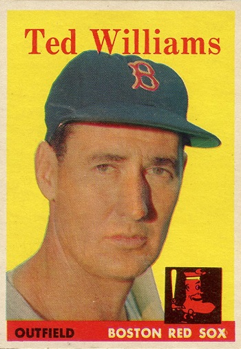 1958 Topps Ted Williams