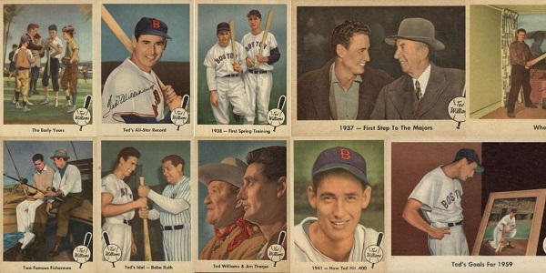 1959 Fleer Ted Williams Baseball Cards 12 Most Valuable Wax Pack