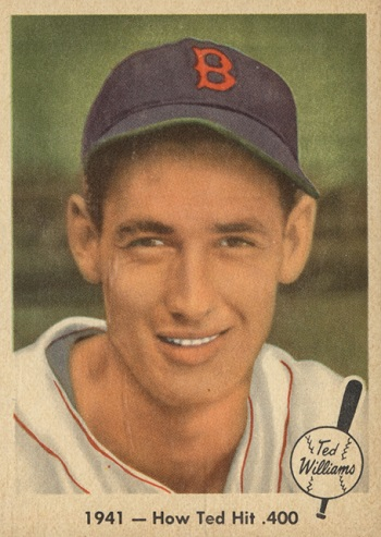1959 Fleer Ted Williams How Ted Hit .400