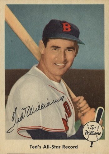 1959 Fleer Ted Williams Ted_s All Star Record