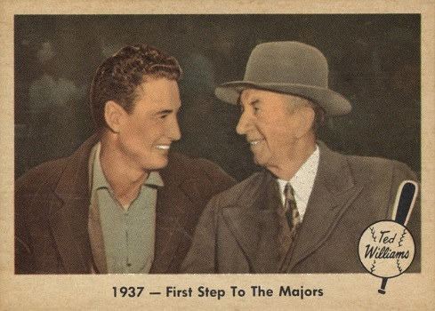 1959 Fleer Ted Williams Ted_s First Step (Collins)