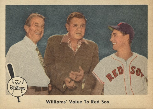 1959 Fleer Ted Williams Williams Value to Red Sox
