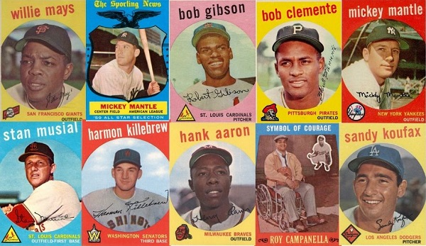 1959 Topps Baseball Cards – 10 Most Valuable