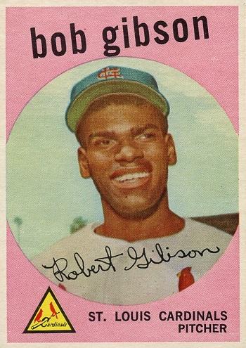 1959 Topps Bob Gibson
